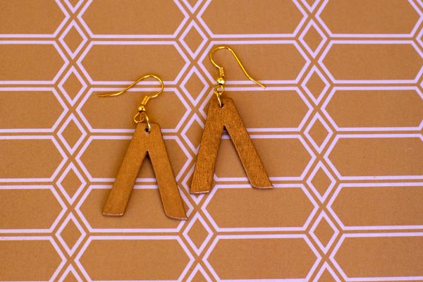 Chevron-Letter-Earring-4