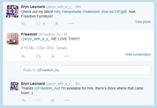 Freedom-Tweet