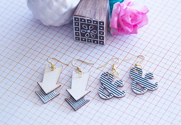 Typo-Earrings